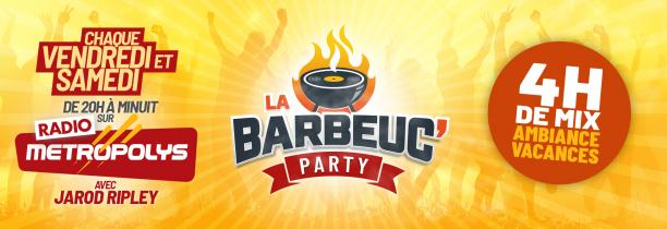 BARBEUC PARTY 31 JUILLET 20H - 22H